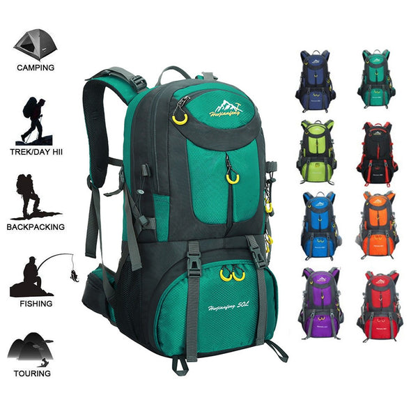 50L Waterproof Backpack - Go Outdoor Life