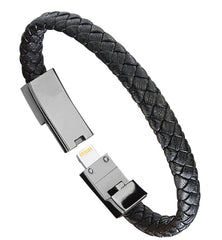 Leather Micro USB Bracelet - Go Outdoor Life