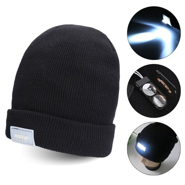 LED Light Knit Beanie - Go Outdoor Life