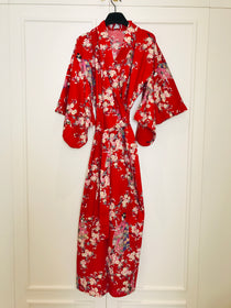 Silk and cotton kimono collectio