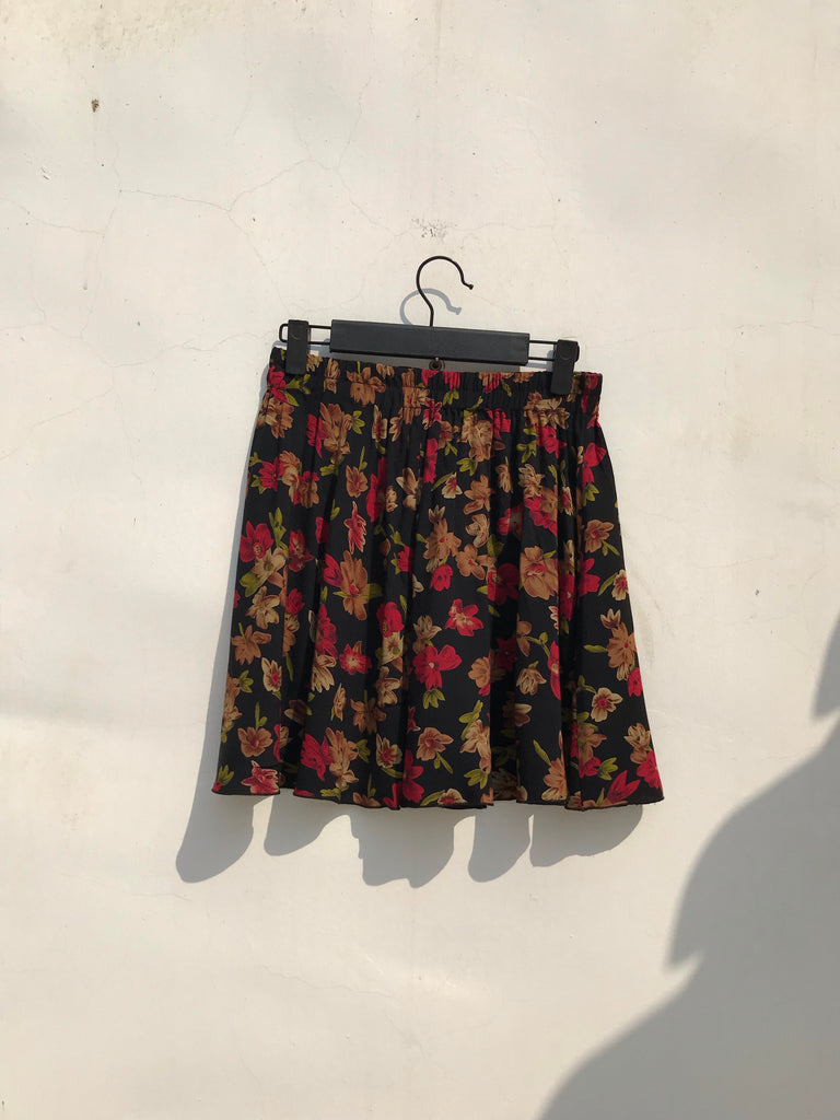 COTTON SHORT SKIRT