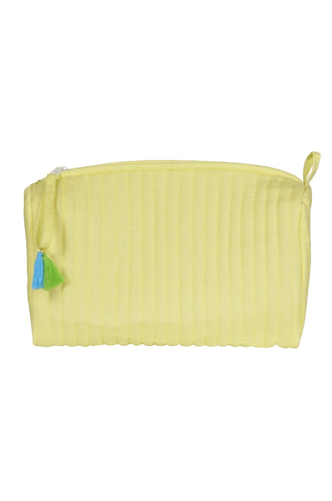 Toiletry bag (neon yellow)