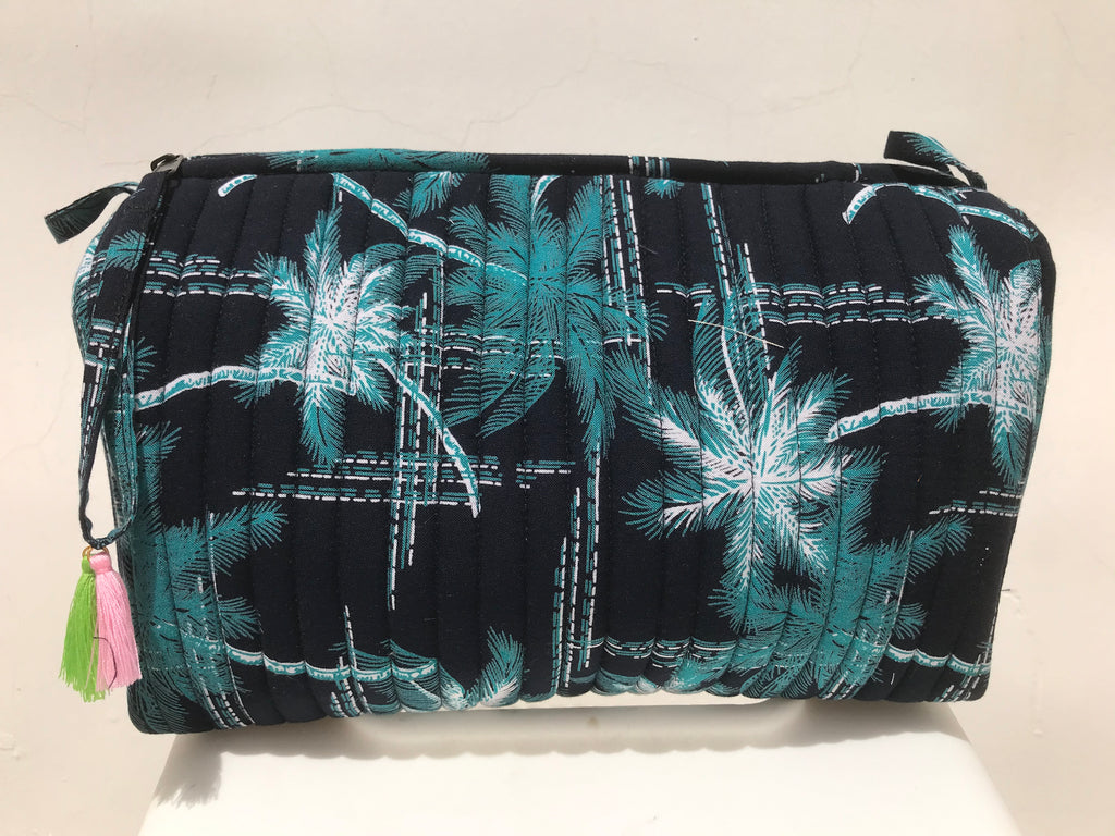 toiletry bag (palm tree)