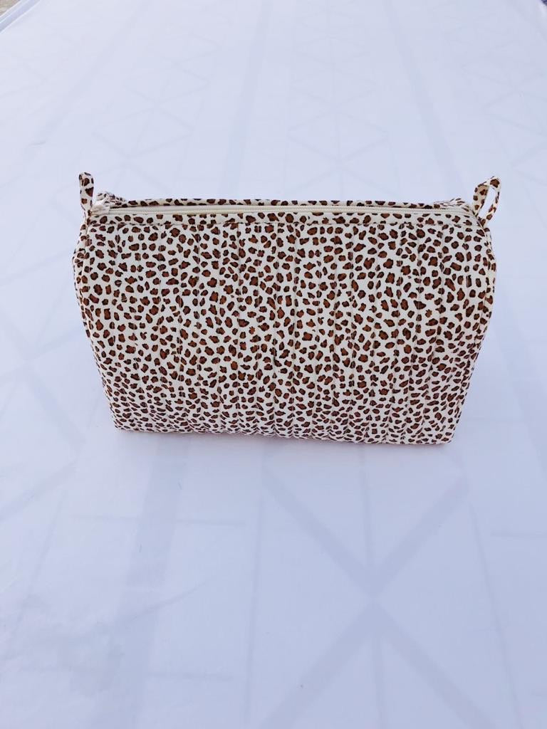 Toiletry bag(leopard)