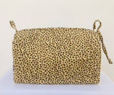 toiletry bag (leopard)