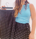 pencil cut wrap skirt