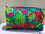 Toiletry bag (Birds and flowers)