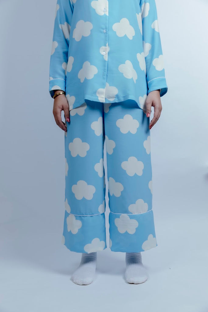 Cloud Pajama Set