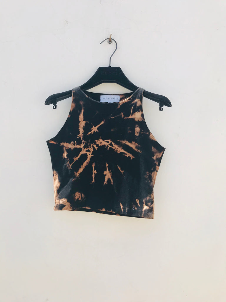 Crop top acid wash 2