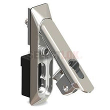 Load image into Gallery viewer, IND-B Series Swing Handle - Black-Chrome - Euro Profile