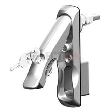 Load image into Gallery viewer, Eselon Series Swing Handle - Chrome-Chrome - Keyed 604