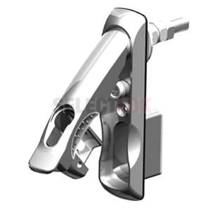 Eselon Series Swing Handle - Chrome-Chrome - euro profile