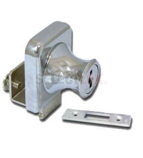 Glass Door Lock - Cabinet Single Swinging