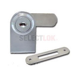 Glass Door Lock - Cabinet Single Swinging - Right
