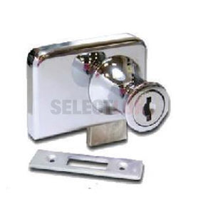 Glass Door Lock - Cabinet Double Swinging
