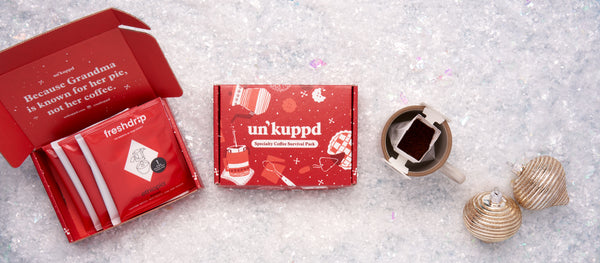 The Un'kuppd Specialty Coffee Survival Pack