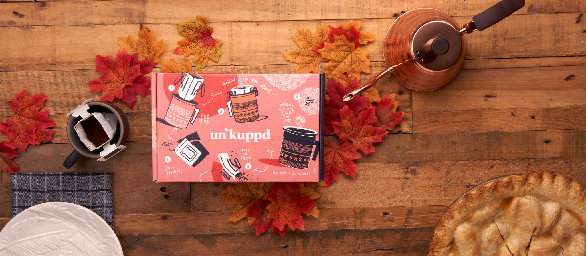 Un'kuppd Pour-over Coffee | The Regular Thing | Monthly Discovery Box