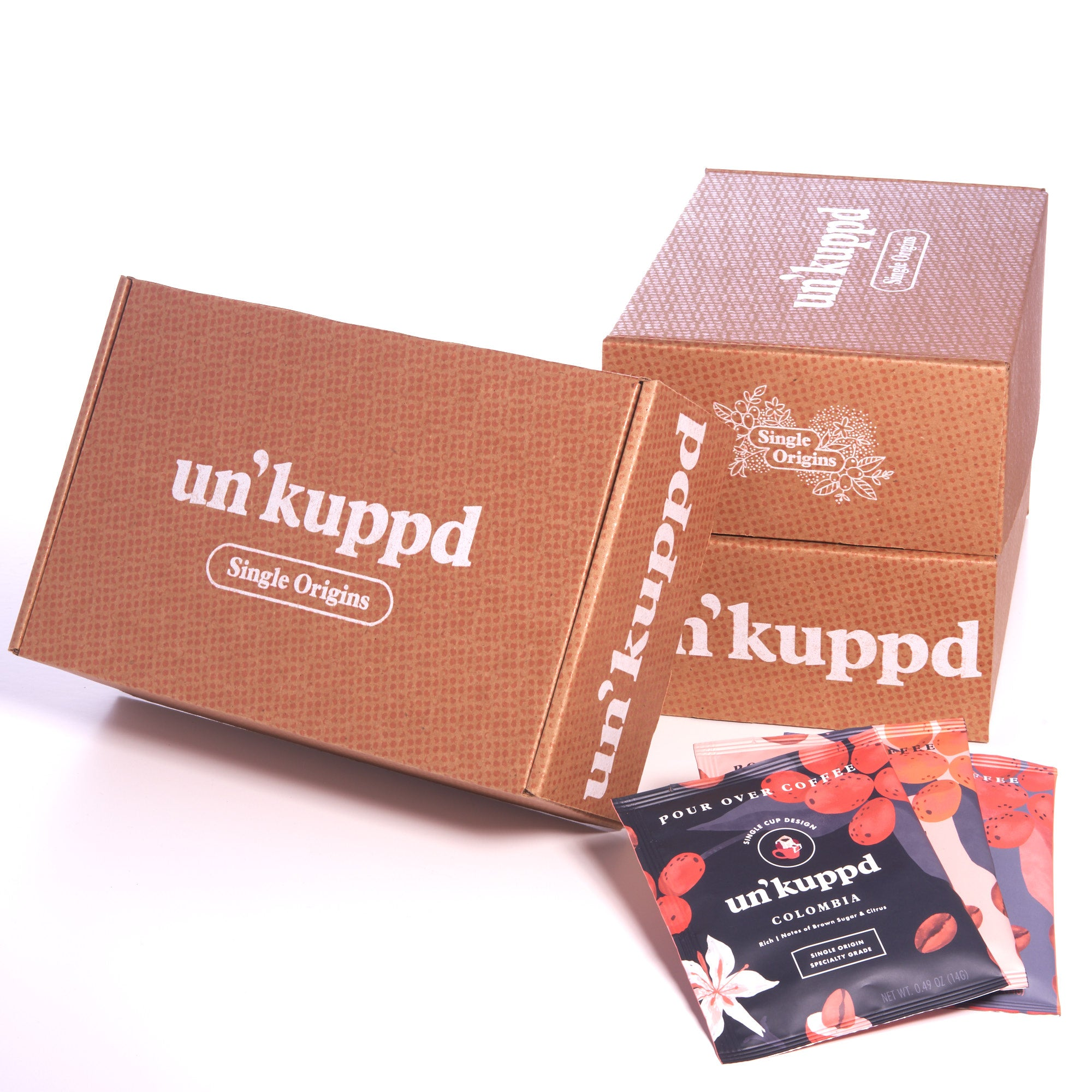 Un'kuppd Single Origins 15 Pack (3 Month Gift Subscription)