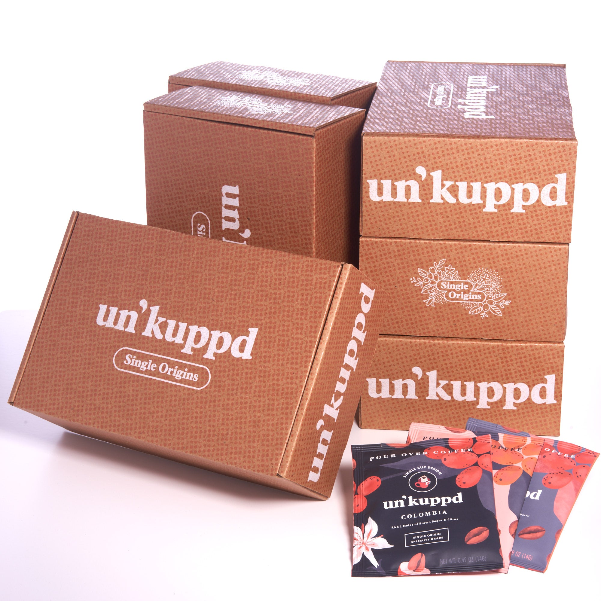 Un'kuppd Single Origins 15 Pack (6 Month Gift Subscription)