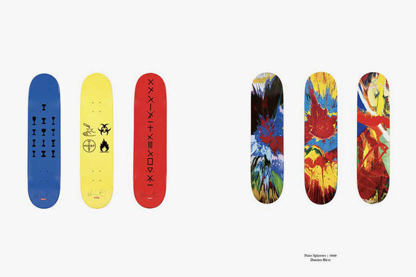 Art on Deck: An Exploration of Supreme Skateboards from 1998-2018