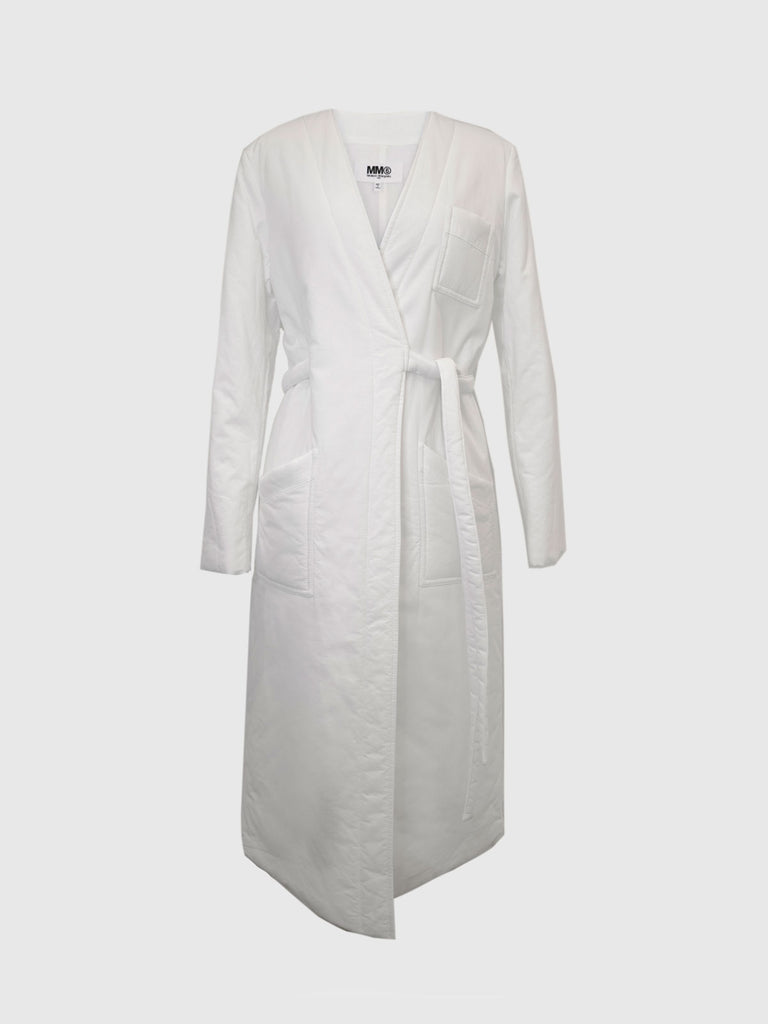 MM6 Maison Margiela Puffy Lab Coat