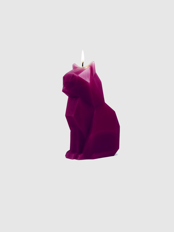 Pyropet Kisa Cat Candle Burgundy - 10 Corso Como New York