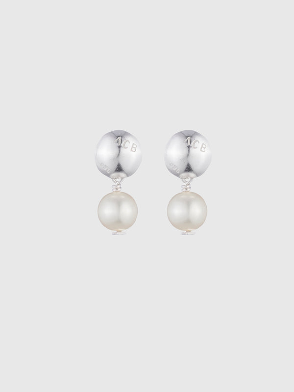 Logo Pearl Drop Earrings - 10 Corso Como New York