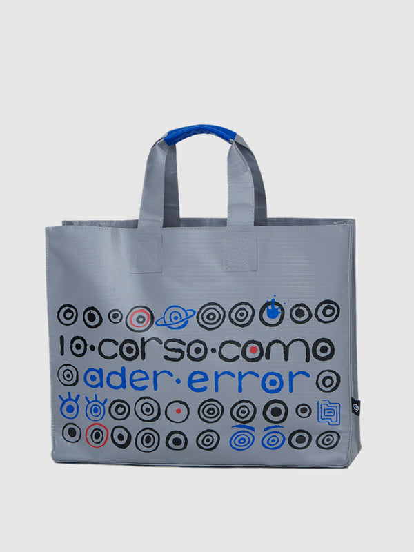 Grey Logo Oversized Shopper Bag - 10 Corso Como New York