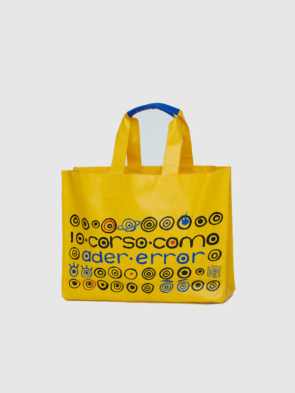 Yellow Logo Oversized Shopper Bag - 10 Corso Como New York