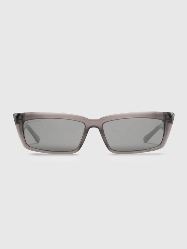 Grey Rectangular Sunglasses - 10 Corso Como New York