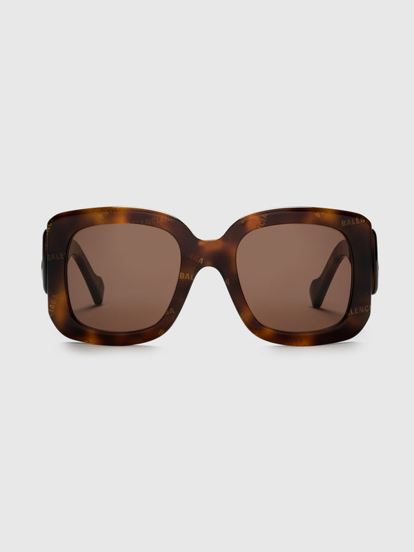 Havana Rectangular Sunglasses - 10 Corso Como New York