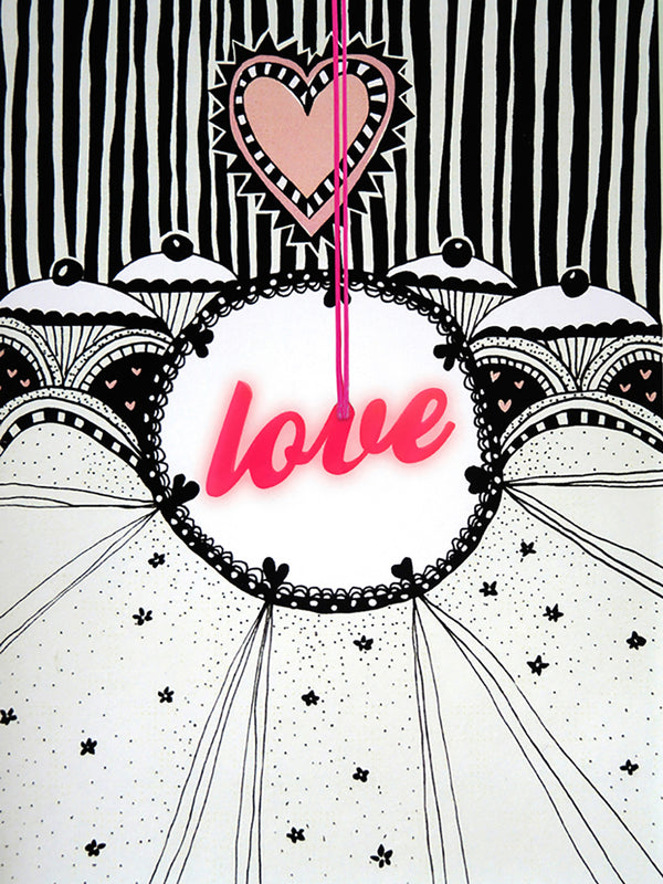 Love Greeting Card with Envelope - 10 Corso Como New York