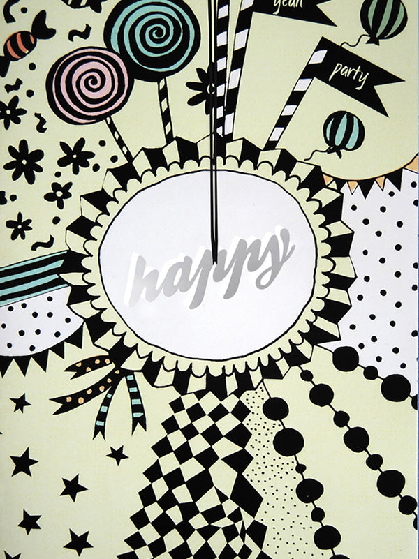 Happy Greeting Card with Envelope - 10 Corso Como New York