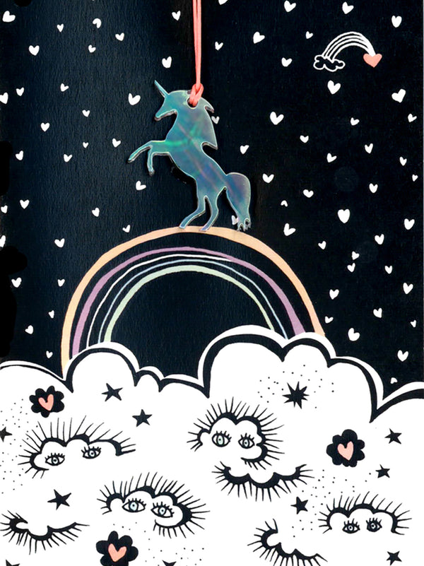Unicorn Greeting Card with Envelope