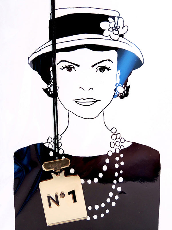 Coco Chanel Greeting Card with Envelope - 10 Corso Como New York