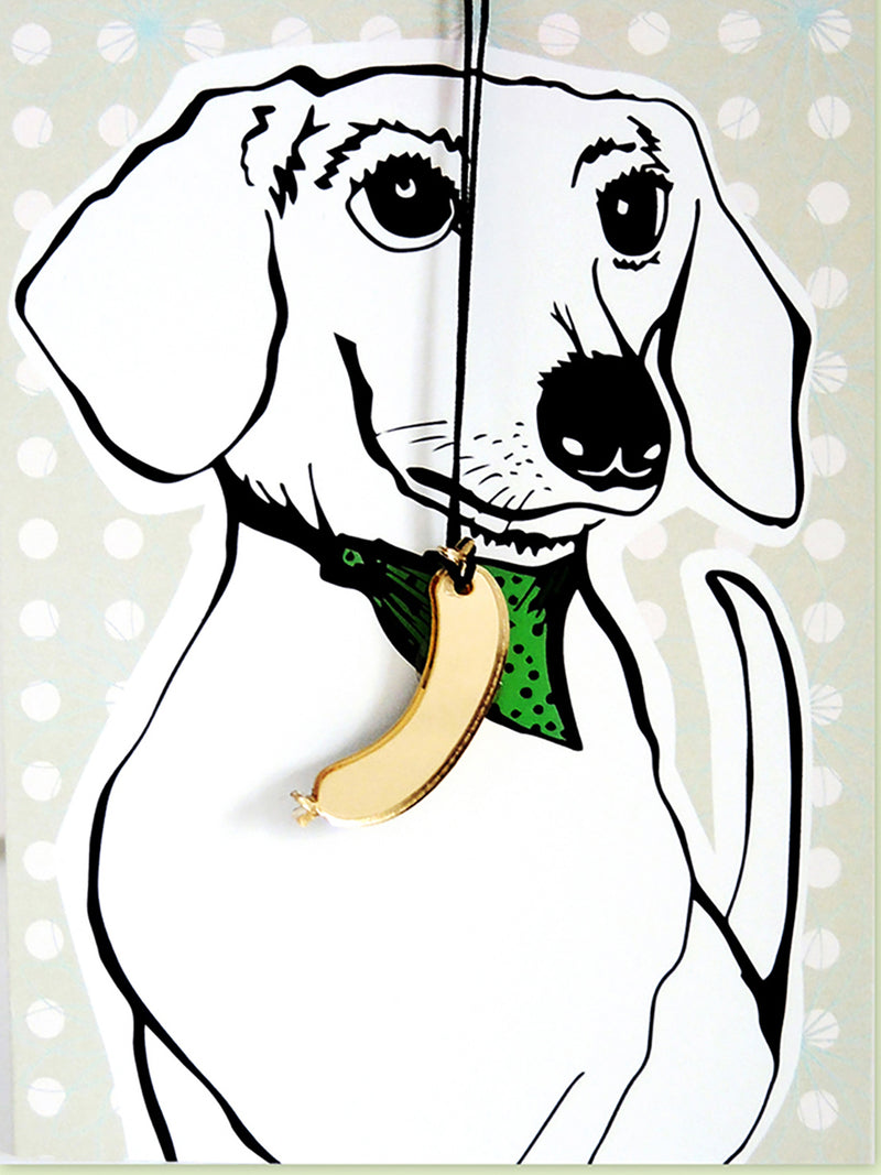 Dachshund Greeting Card with Envelope - 10 Corso Como New York