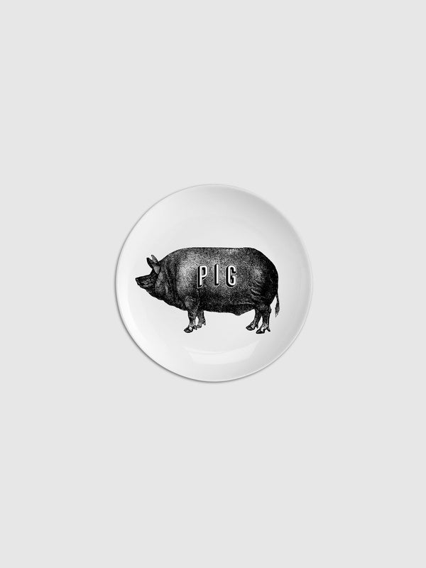 Pig Piate Fine China Plate - 10 Corso Como New York