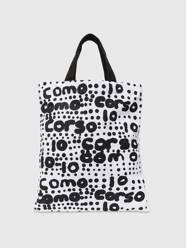 Medium Graffiti Dot Print Tote Bag - 10 Corso Como New York