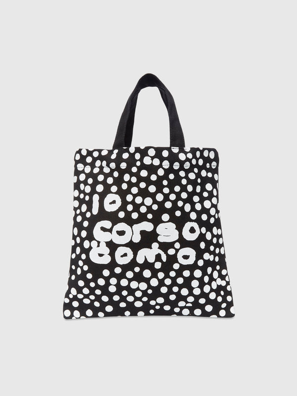 Small Graffiti Dot Print Tote Bag - 10 Corso Como New York