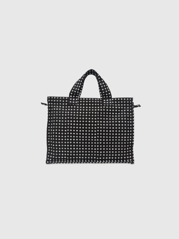 Small Iconic Dot Zip Tote Bag