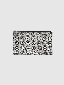 Iconic Dot Zip Pouch with Red Interior - 10 Corso Como New York