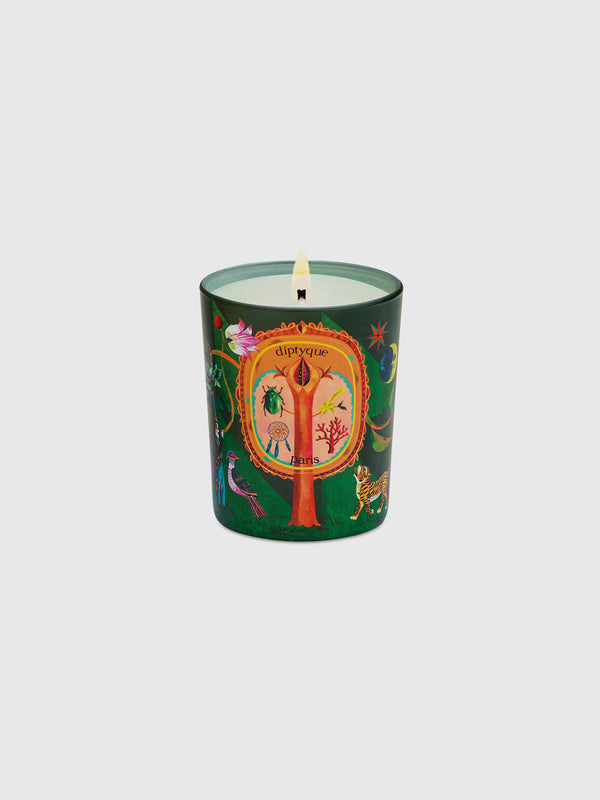 Protective Pine Holiday Candle