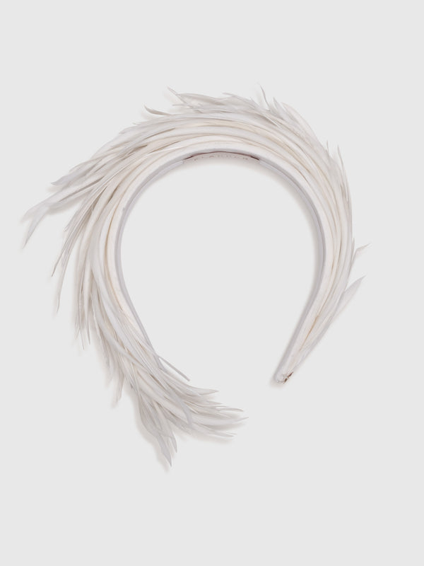 Kelly Feather Headband - 10 Corso Como New York