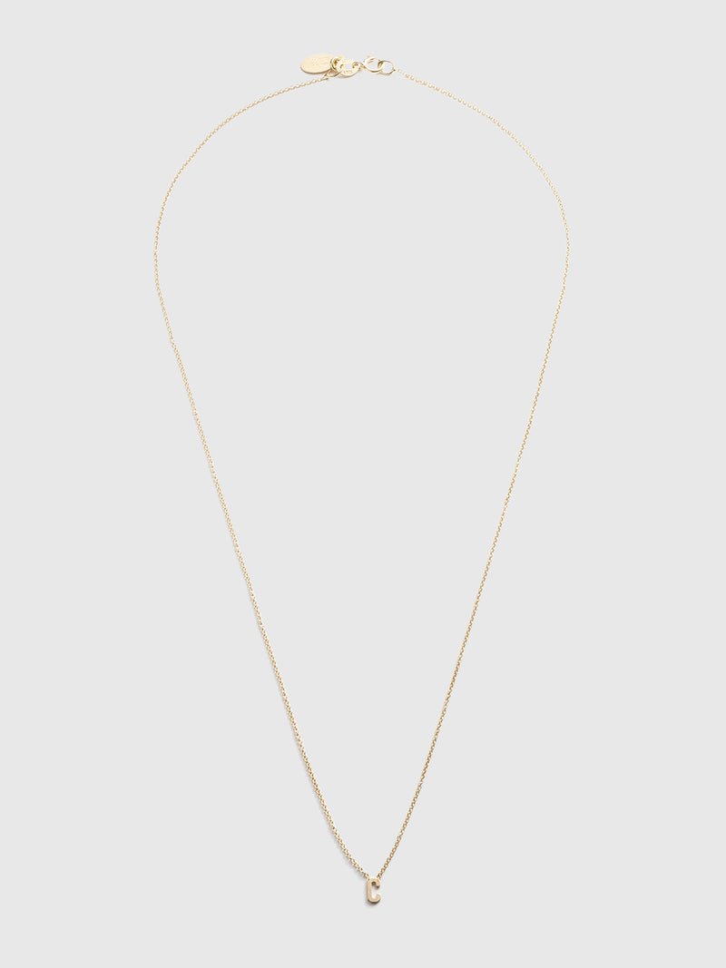 Initial C Necklace - 10 Corso Como New York