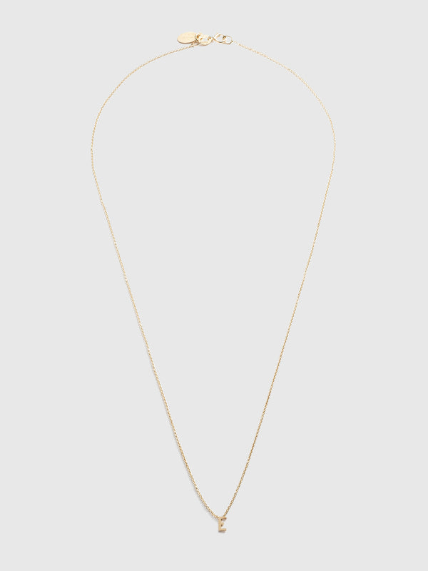 Initial E Necklace - 10 Corso Como New York