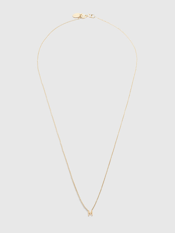 Initial M Necklace - 10 Corso Como New York