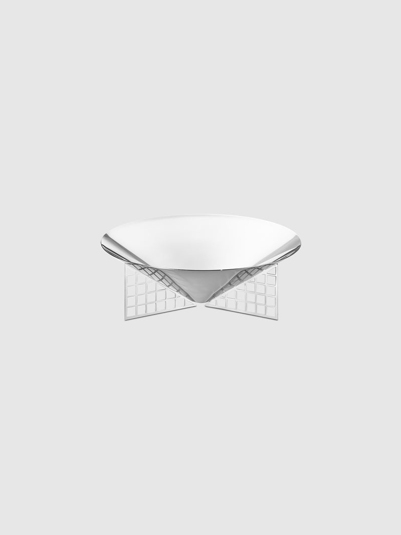 Mirror Stainless Steel Small Matrix Bowl - 10 Corso Como New York