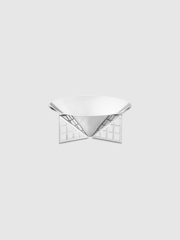 Mirror Stainless Steel Small Matrix Bowl