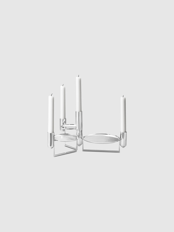 Mirror Stainless Steel Tune Candle Centrepiece - 10 Corso Como New York