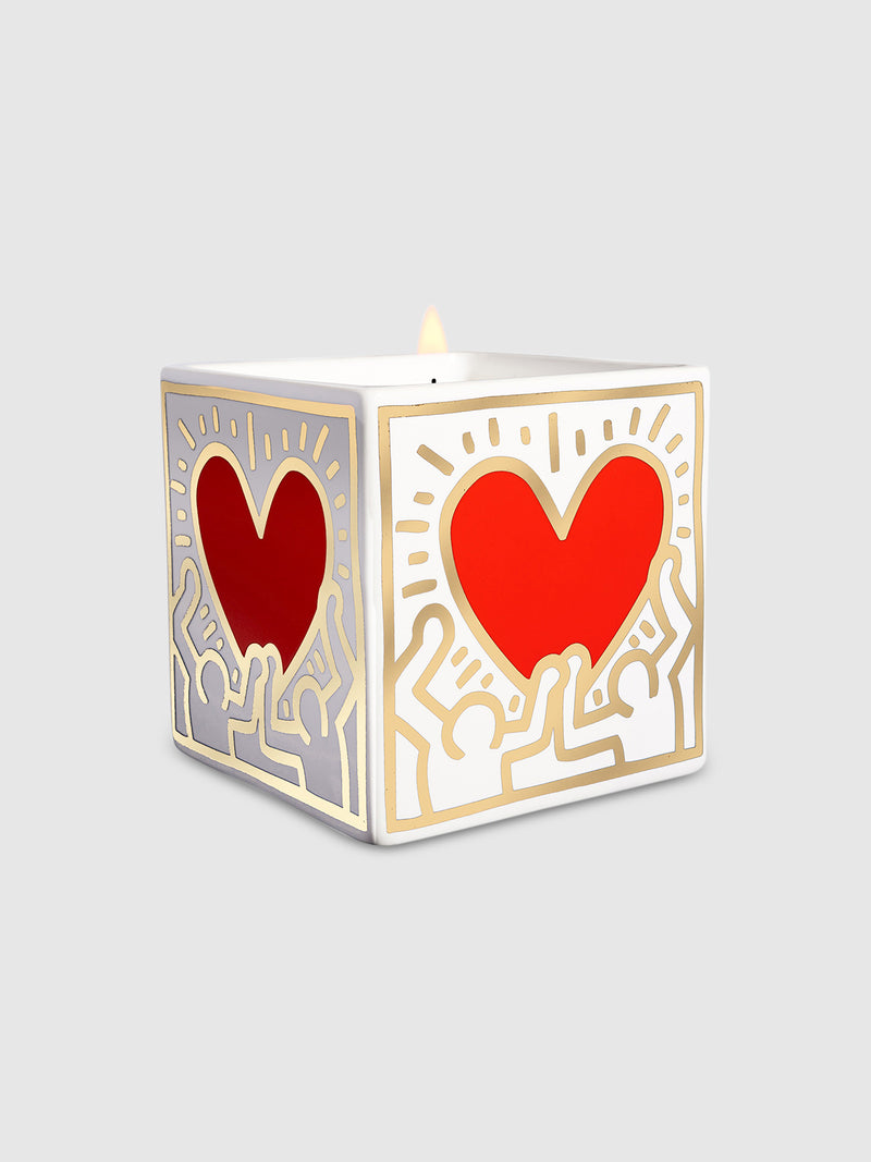 Heart Square Candle by Keith Haring - 10 Corso Como New York